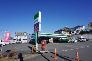 建替前のファミリーマート町田鶴間店・店舗外観