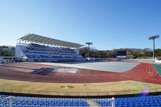 町田市立陸上競技場(町田GIONスタジアム)の競技場内部