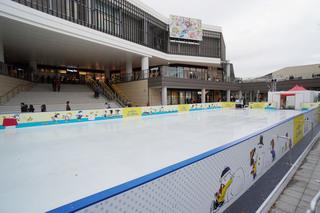 特設アイススケート場「グランベリーパーク アイスアリーナ」の外観