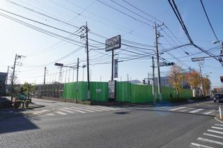 町田市小山町で解体中の「旧・浜焼市場」の店舗