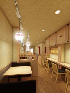「京都勝牛 町田店」の店内イメージ