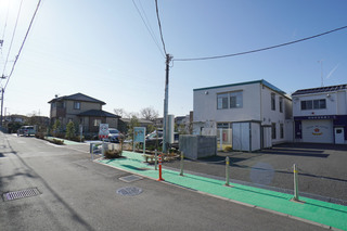 道路整備を見越して建設された「小山子どもクラブ」