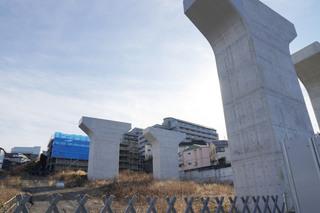 「町田3・3・36号線」の旭町陸橋予定地