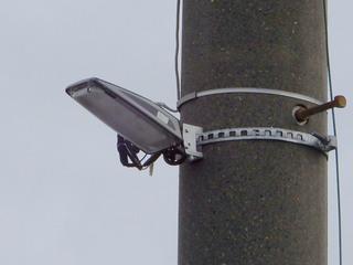「町田3・3・36号線」の周辺で交換が進められた街路灯本体