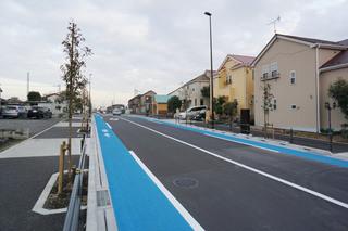2019年2月に開通した金森の「都市計画道路 町田3・4・34号線」