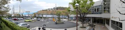 町田市立室内プールに計画中の「温浴施設」建設予定地