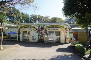 町田リス園の放し飼い広場入口
