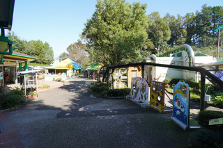 町田リス園の園内の様子
