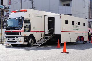 東京消防庁の特殊救急車「スーパーアンビュランス」