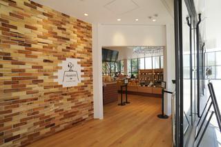 スヌーピーミュージアムのカフェ「ピーナッツカフェ」