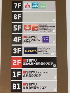 「西友町田店」のフロアガイド