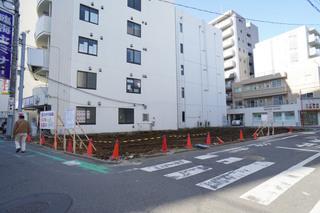 「(仮称)スガナミ・新武友ビル」の建設予定地